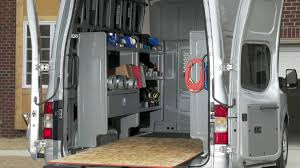 nissan work van nissan nv insider innovative cargo system youtube