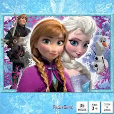 frozen 50 piece jigsaw puzzle