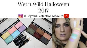 Wet N Wild Halloween Makeup by Wet N Wild Halloween Collection 2017 Youtube