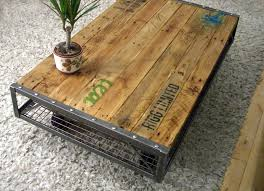 Pallet Table For Sale Pallet Coffee Table This Super Industrial Pallet Coffee Table Is