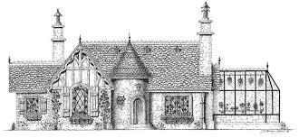 storybook cottage style house plans