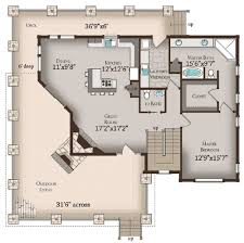log cabin floor plans with basement plan 13318ww wrap around porch house porch and cabin