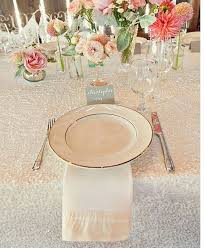 sequin table runner wholesale fresh white and pink wedding table setting pinterest wedding