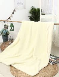 Faux Fur Throw Blanket Faux Fur Lamb Throw Blanket