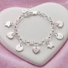 silver child charm bracelet images Astonishing childrens charm bracelets personalised children s jpg