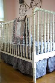 Bed Skirt For Crib Crib Skirt Pattern Oleander Palm