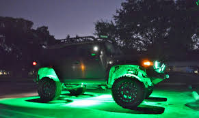 Rigid Rock Lights 2007 Fj Cruiser 4x4 Customized Lifted And Lighted Youtube