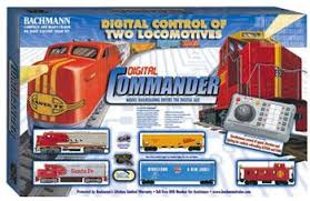 digital commander deluxe ho scale model set 00501 by