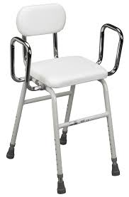 drive deluxe all purpose kitchen stool with adjustable arms