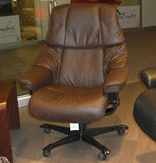 Stressless Paloma Chocolate 09434 Leather by Ekornes  Stressless