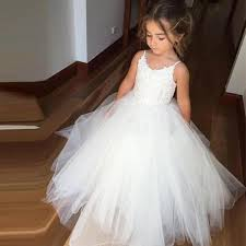 tulle for sale spaghetti lace top white tulle hot sale flower girl dresses for