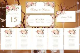 Table Tents Template Wedding Seating Chart
