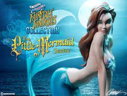 mermaid statue scott campbell fairytale fantasies