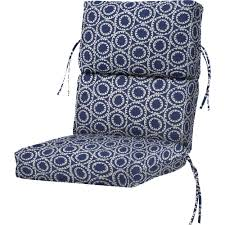 High Back Patio Chair Cushions Outdoor Fabric By The Yard Outdoor Cushions The Home Depot