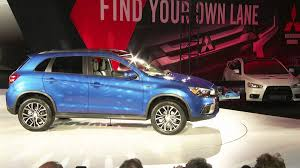 2017 mitsubishi outlander sport brown 2015 la auto show mitsubishi global debut 2016 outlander sport