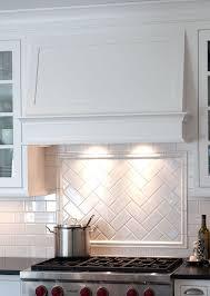 Gorgeous Subway Ceramic Tile Backsplash Shop These Tiles And More - White tile backsplash