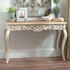 ivory baroque console table kirklands