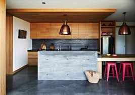 Kitchen With L Shaped Island White Modern Plywood Cabinet Cube Grey Washstand Wooden Kitchen