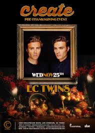 tixr pre thanksgiving ec tickets at create