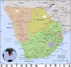 Map Of Southern Africa by Southern Africa Public Domain Maps By Pat The Free Open Source