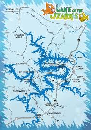 cove lake of the ozarks map best 25 lake ozark ideas on ozark mo table rock and