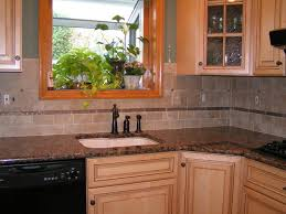 houzz kitchen tile backsplash baltic brown granite tile backsplash