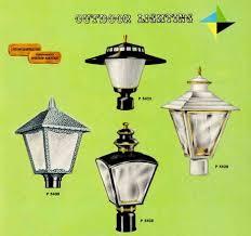 41 midcentury lighting ideas post lanterns l posts wall