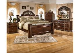 Gabriela King Poster Bed Ashley Furniture HomeStore - Ashley furniture homestore bedroom sets