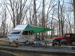 Awning For Travel Trailer Awnings Ideas Dave Theoleguy And Nancy U0027s Aliner