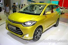 Daihatsu Mpv Daihatsu Ufc 3 Mpv Concept Indonesia Live