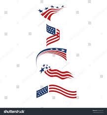 Star Flags Usa Star Flag Logo Stripes Design Stock Vector 671501353