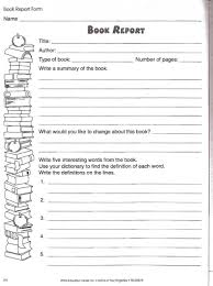 second grade writing paper book report worksheet book studies pinterest worksheets and book report worksheet