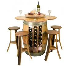 wine rack pub table table designs