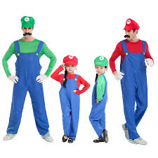 Mario Luigi Halloween Costumes Buy Wholesale Mario Luigi Mascot Costume China