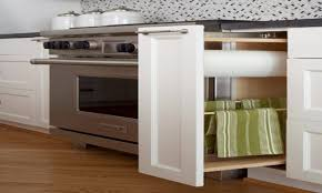 kitchen cabinets storage ideas kitchen towel storage idea