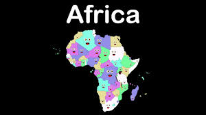 Map Of Africa With Capitals by African Countries And Capitals Song African Countries And Capitals