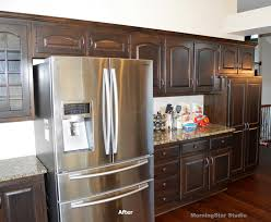 Design Kitchen Cabinet Kitchen Cabinets Refinished Cabinet Refinishing Before And After
