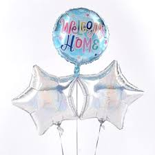 welcome home balloons delivery special occasion balloon bouquets with free delivery card factory
