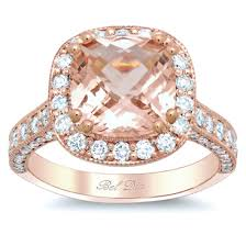 gold engagement ring settings gold halo engagement ring setting with morganite