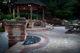 Cool Patio Ideas by New Pavers Or Concrete Patio Room Design Decor Cool In Pavers Or