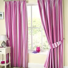 Pink Striped Curtains Pink And White Striped Curtains Uk Gopelling Net