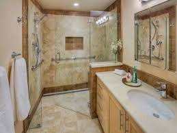 attractive bathroom design ideas walk in shower with unique walk