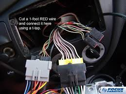 how to aftermarket radio wiring with stock svt sub and amp