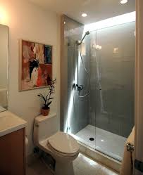 ravishing designing a small bathroom with shower in glass chamber