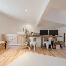 bureau en mezzanine mezzanines idée décoration mezzanines et aménagement domozoom