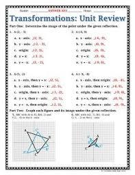 transformations geometry worksheet worksheets