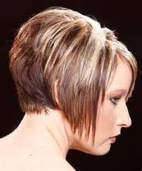 wedge cut for fine hair back view of stacked bob haircut photos hairxstatic angled bobs
