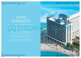 The Azure Floor Plan by Azure Residence Version 1 Floor Plans Justproperty Com