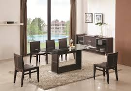 Glass Wood Dining Room Table Dining Sets Lumen Home Designslumen Home Designs