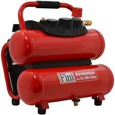 fini 1 5 hp 3 gal 150 psi portable electric twin stack air